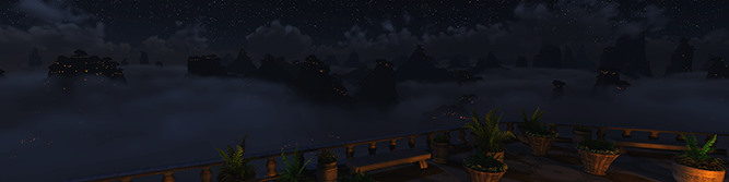 Cloud Terrace (Night)