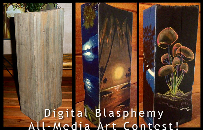 Digital Blasphemy All-Media Art Contest!