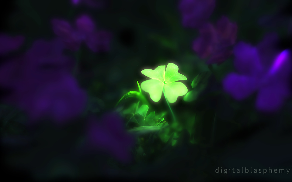 Digital Blasphemy 3d Wallpaper Lucky Charm St Patricks