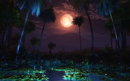 Moonlit Oasis (Illume)