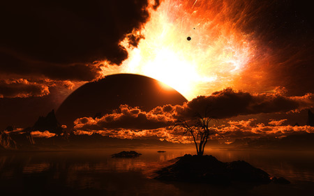 Digital Blasphemy: Top 10 Rated Planetscapes