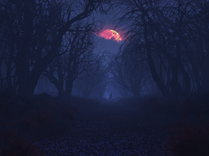 Bad Moon Rising (Happy Halloween!)