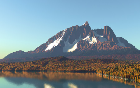 Sundered Mountain (Autumn)